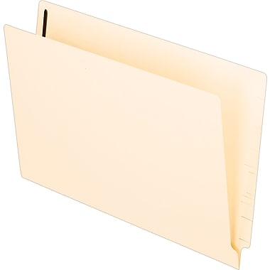 Pendaflex® MicrobeGuard End-Tab File Folders with # 1 and 3 Fastener Position, Manila