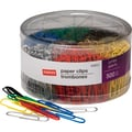 Staples® Jumbo Vinyl-Coated Paper Clips, Smooth, 500/Tub