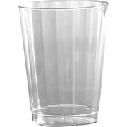 WNA Classic Crystal™ Plastic Cold Cups, 10 Oz., Clear, 240/Ct
