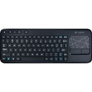 Logitech K400 Wireless Touch Keyboard, Black