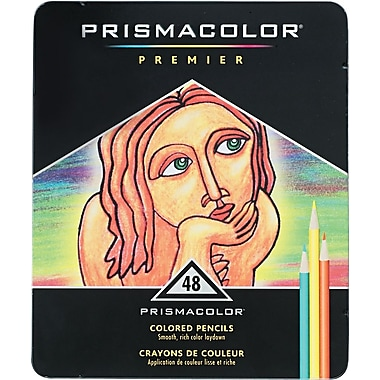 Prismacolor® Premier Colored Pencils, 48 Color Set