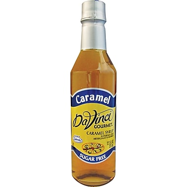 DaVinci Gourmet® Sugar Free Caramel Flavored Syrup, 12.7 oz. Bottle, 6/Case