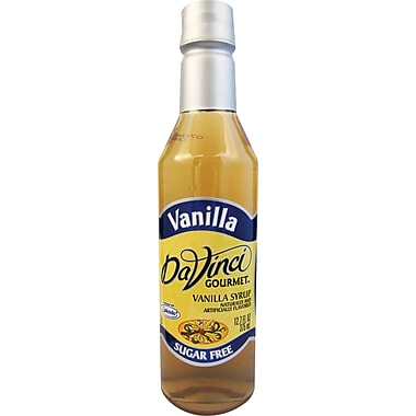 DaVinci Gourmet® Sugar Free Vanilla Flavored Syrup, 12.7 oz. Bottle, 6/Case
