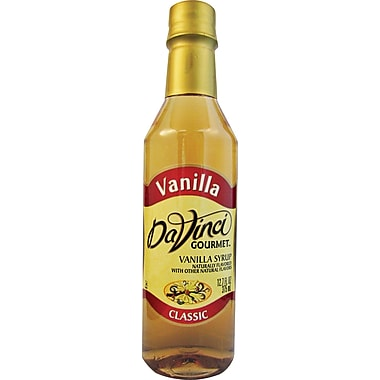 DaVinci Gourmet® Vanilla Flavored Syrup, 12.7 oz. Bottle, 6/Case