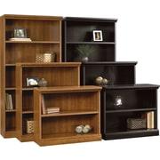Sauder Premier Composite Wood Bookcases, Assorted Sizes