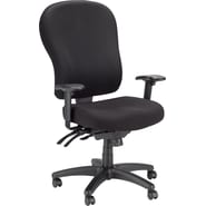 Tempur-Pedic® TP4000 Ergonomic Fabric Mid-Back Task Chair, Black
