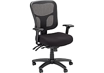 Tempur-Pedic® TP8000 Ergonomic Mesh Mid-Back Task Chair, Black