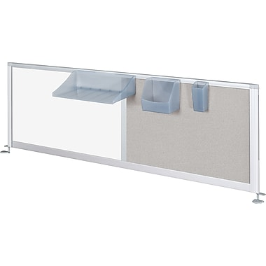 Balt® IFlex Privacy Panel, 17in. x 66in., Porcelain/Vinyl Combination