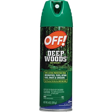 OFF! Deep Woods, 6 oz. Can