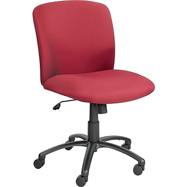 Safco  Uber™ Big and Tall Fabric Mid-Back Task Chair. Burgundy