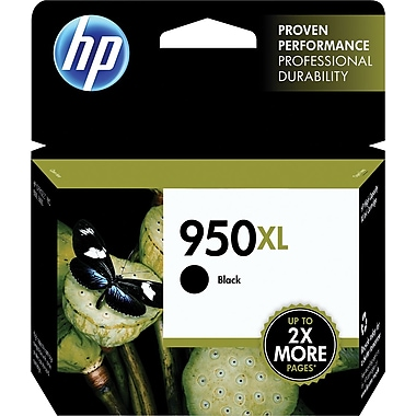 HP 950XL Black Ink Cartridge (CN045AN), High Yield
