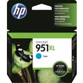 HP 951XL Cyan Ink Cartridge (CN046AN), High Yield