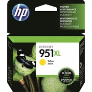 HP 951XL Ink Cartridge, Yellow (CN048AN)