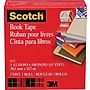 Scotch® Book Tape 845, 1 1/2 x 15