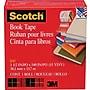 Scotch® Book Tape 845, 1 1/2 x 15