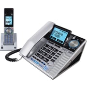 GE 30784EE2 DECT 6.0 Corded/Cordless Speakerphone with Digital Answering System and Bluetooth