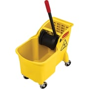 Rubbermaid® Tandem Bucket and Wringer Combo