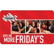 TGI Fridays Gift Card $25