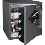 SentrySafe 1.23-Cubic-Foot Combination Fire Safe