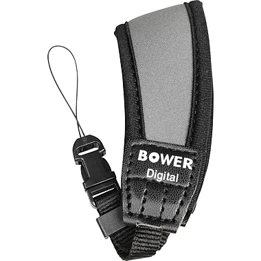 Bower SS2477 Neoprene Wrist Strap for Point-and-Shoot Camera, Gray