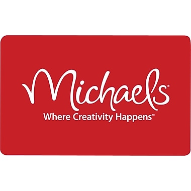 Michaels Gift Card $25