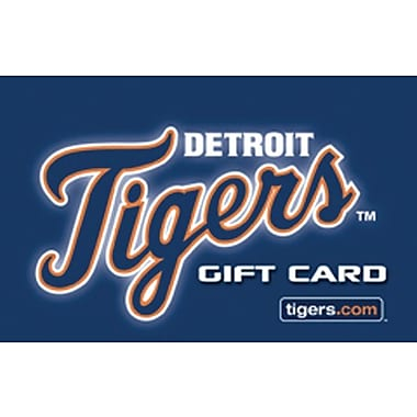 Detroit Tigers Gift Card $50