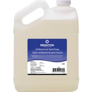 Brighton Professional™ Antibacterial Hand Soap, Unscented, 1 Gallon, 4/Ct