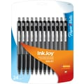 Paper Mate® InkJoy™ 300 Ballpoint Retractable Pens, Medium, Black, 24/Pack