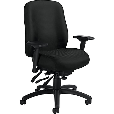 Staples® Multifunction Task Chair, Black