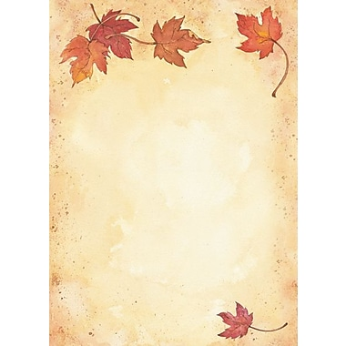 Great Papers Fall Leaves Flat Card Invitations
