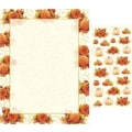 Pumpkin Swirl Letterhead with Seals