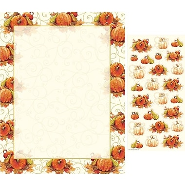 Great Papers® Pumpkin Swirl Letterhead with Seals