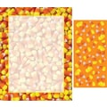 Candy Corn Border Letterhead with Seals