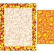Great Papers® Candy Corn Border Letterhead with Seals