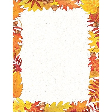 Great Papers® Fall Foliage Letterhead