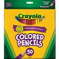Crayola® Assorted Color Pencils, 50/Box
