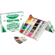 Crayola® Classpack® Washable Markers Assorted Colors, Fine Line Tip 200/Box
