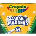Crayola® 58-8764 Washable Marker, Conical Tip, Assorted