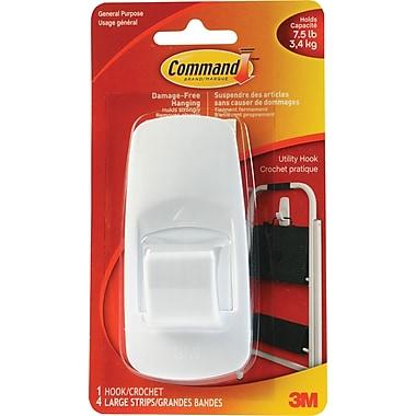 Command™ Adhesive Hook, Jumbo