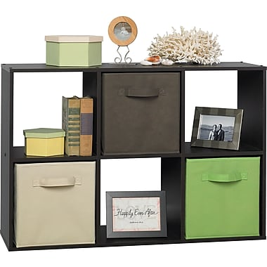 ClosetMaid® Cubeicals 6-Cube Storage Organizer, Espresso