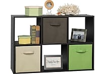 ClosetMaid® Cubeicals® 6-Cube Storage Organizer, Espresso