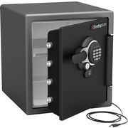 Sentry® 1.2 cu. ft. USB Connected Water/Fire-Resistant Electronic Lock Safe