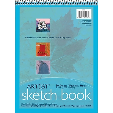 Tru-Rite Sketch Book, 9in. x 12in.