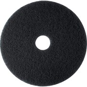 "Brighton Professional™ High-Performance Floor Stripping Pad, 20"", 5/Ct, Black"