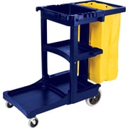 Rubbermaid® Janitorial Cart with Zipper Vinyl Bag