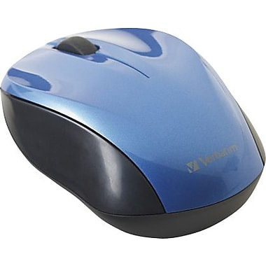 Verbatim Nano Wireless Notebook Optical Mouse - Blue