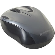 Verbatim Nano Wireless Notebook Optical Mouse - Graphite