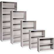 HON® Brigade™ Metal Bookcases, Gray