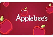 Applebees $50 Gift Card, Email or Mail Delivery