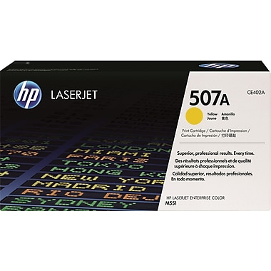 HP 507A Yellow Toner Cartridge (CE402A)